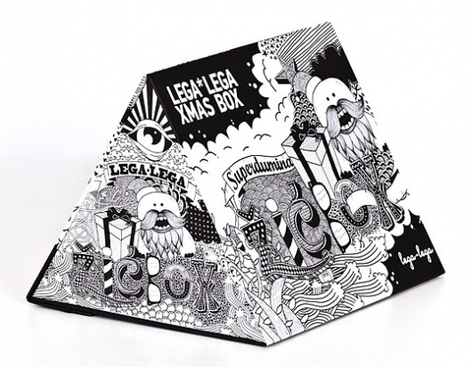 Lega-Lega Xmas Box #packaging #illustration