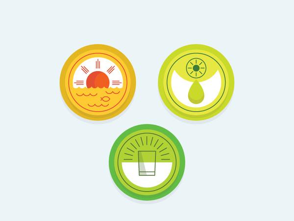 Optimist / Pessimist #icon
