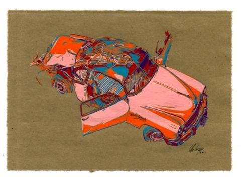 Chris Crites   PICDIT #bag #painting #art