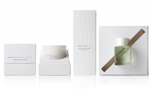 The White Company - Retail - Product Design - Packaging Design - Aloof #packaging