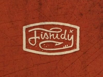 Dribbble - Fishidy by Curtis Jinkins #mark #logo