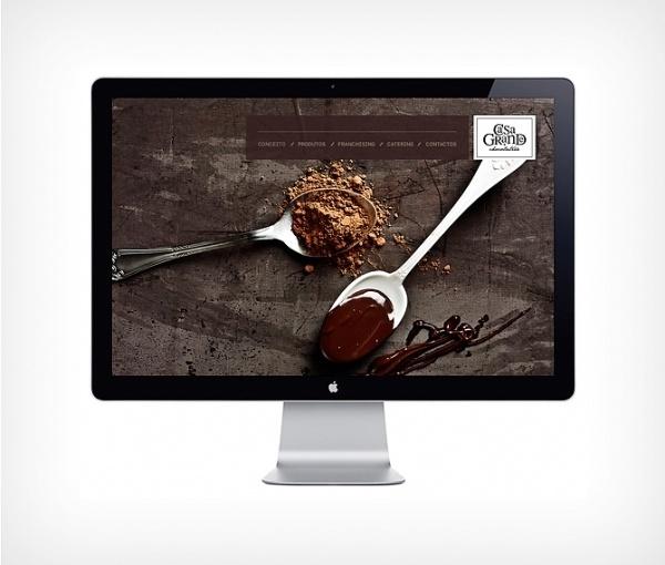 Casa Grande Chocolatier - Luís Oliveira - Graphic . Interactive Design #webdesign