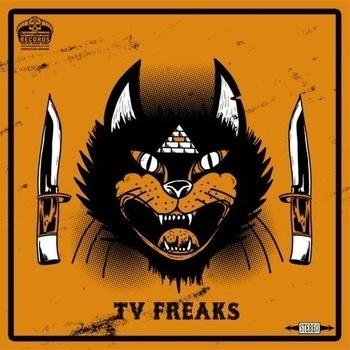 LP cover art #album #punk #cover #lp #freaks #art #tv