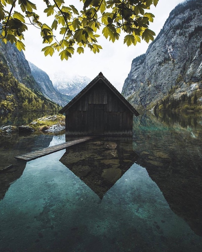 Obersee (Lake Constance), Austria