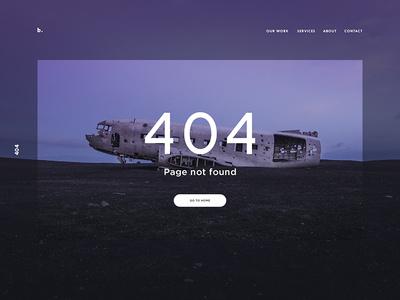 404 error page deisgn example #39: 404 page 404 u i web clean