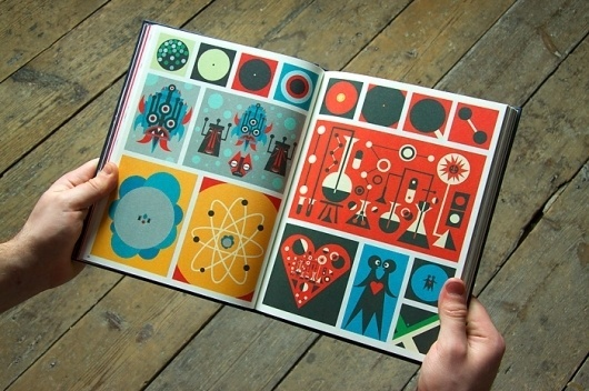 Graphic Cosmogony (2010) - Ben Newman Illustration #inspiration #illustration #design #book