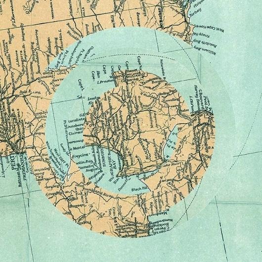 maps : LUIS DOURADO #cut #dourado #luis #design #graphic #collage #maps