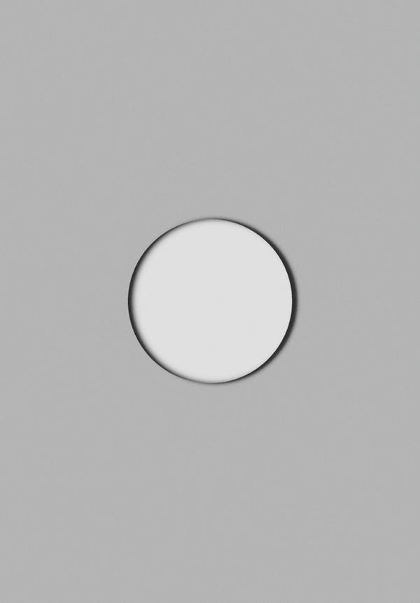 inside x outside #minimalism #circle #geometry #poster