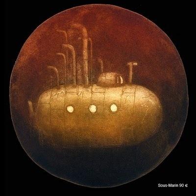 Thomas de la Pinta #submarine #boat