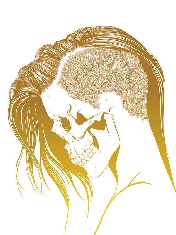 Name: Gerrel Saunders #illustration #vector