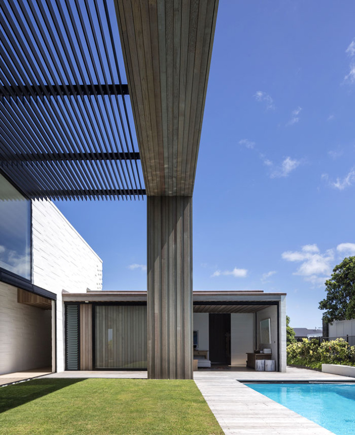 Tuatua House by Julian Guthrie - #architecture, #house, #home, #decor, #interior, #outdoor