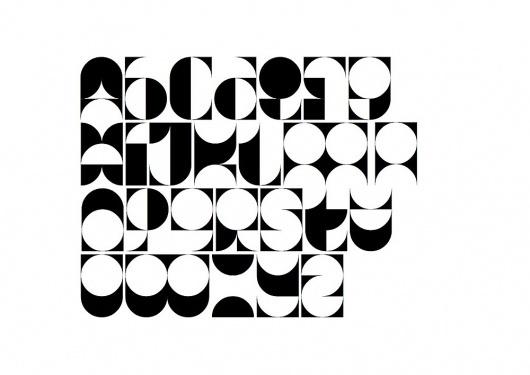 Emil Kozak — Circulitos | Type for you. #geometry #typography