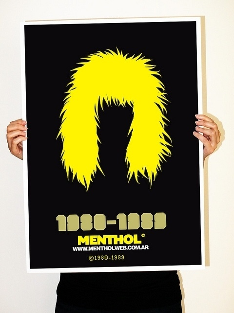 poster | Flickr: Intercambio de fotos #rock #styles #graphic #hair #poster #music #menthol