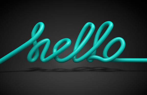 Hello #artwork #personal #3d