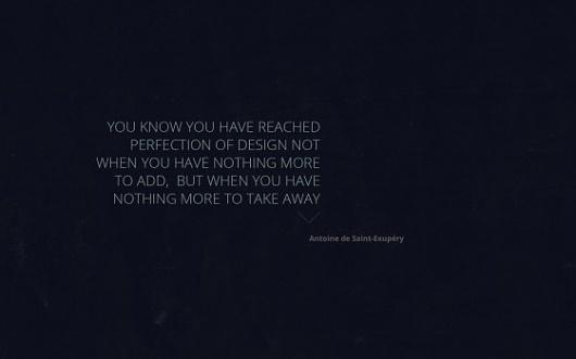 Inspirational design quote desktop and iPhone wallpaper | Jared Erickson #quote #design #simple #minimal #wallpaper