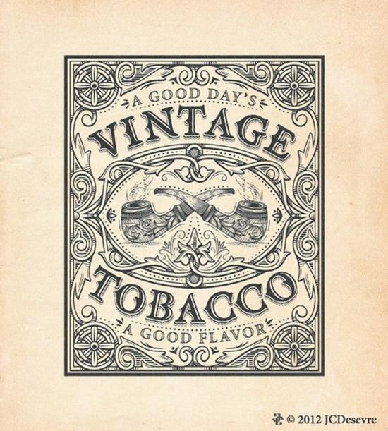 jean-charles desevre #vintage #typography
