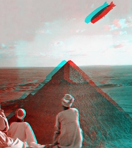 Gramática parda [2011] #pyramid #photography #blimp