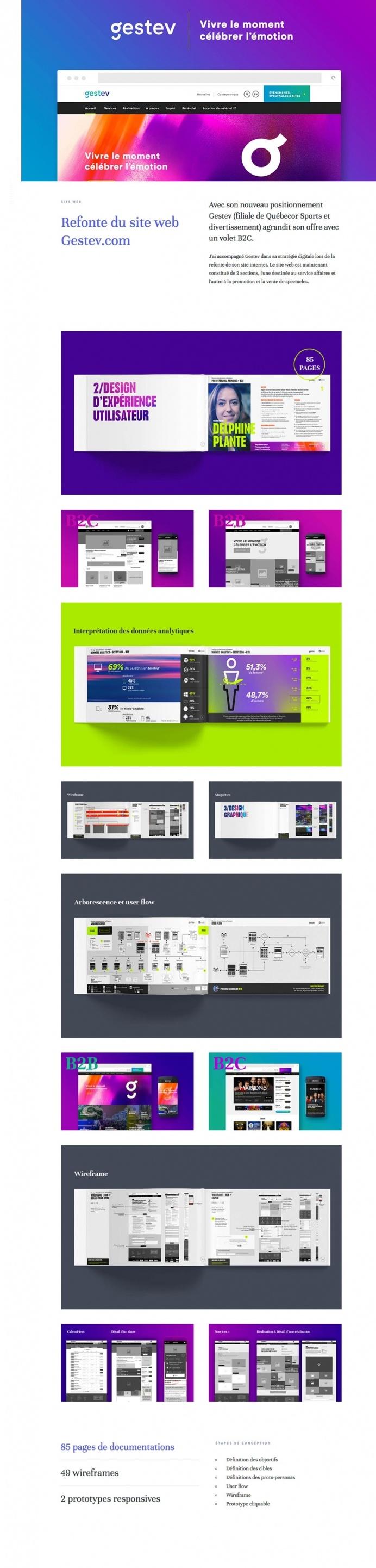 quatreplusquatre - Mindsparkle Mag - quatreplusquatre is the website of Quebec/Canada based UX/UI designer Emilien Edmond that is selected b