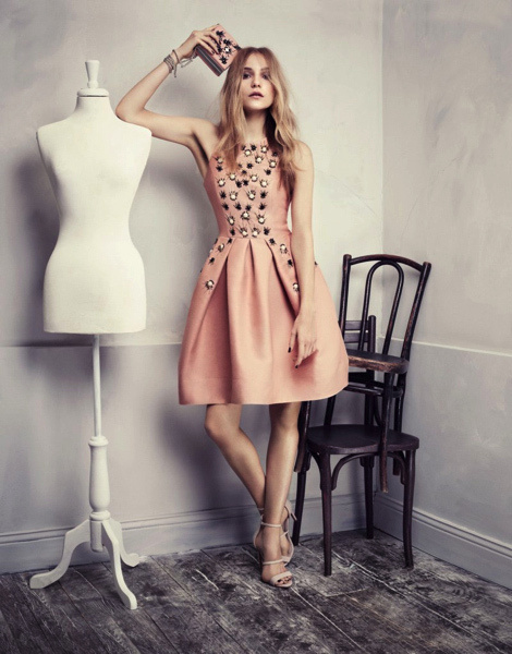 Dorothea Barth Jorgensen for H&M #model #girl #lookbook #photography #fashion