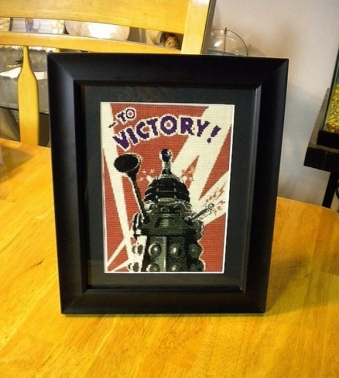 Dalek Victory Cross Stitch | Flickr: Intercambio de fotos #cross #stitch