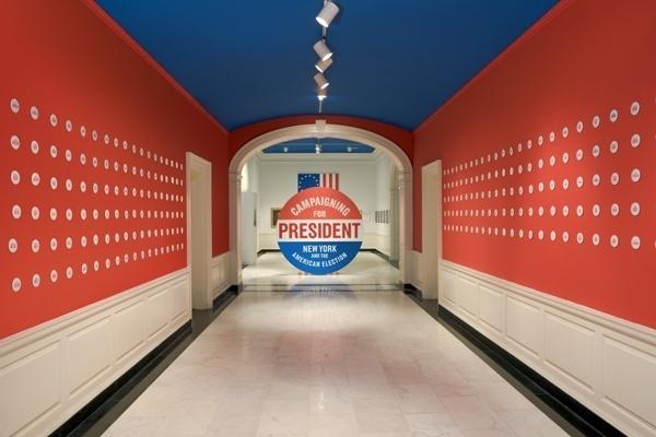 Campaigning for president exhibit #politics #american #exhibit #president
