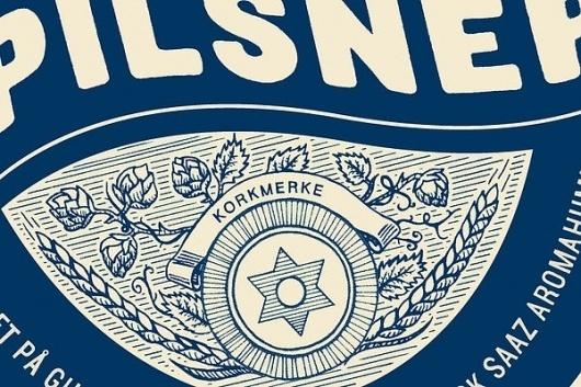 Lade Gaards Brygghus on the Behance Network #beer #label
