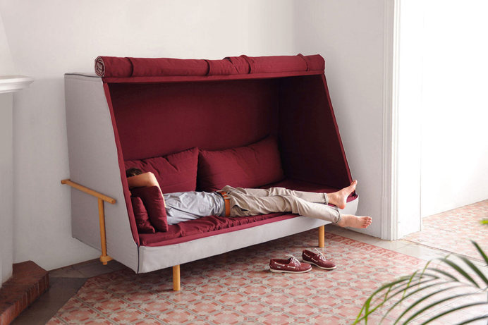 Orwell Sofa: A Private Urban Fort #sofa
