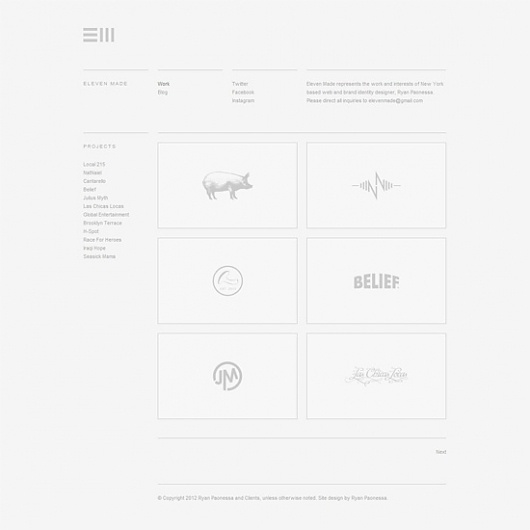 """Undesign"" Your Portfolio Website #undesign #portfolio #design #clean #simple #grid #website #minimal #web"