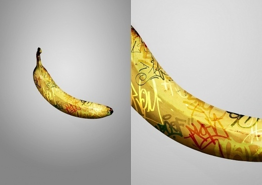 All sizes | Graff Banana | Flickr - Photo Sharing! #graffiti #banana #design #graphic