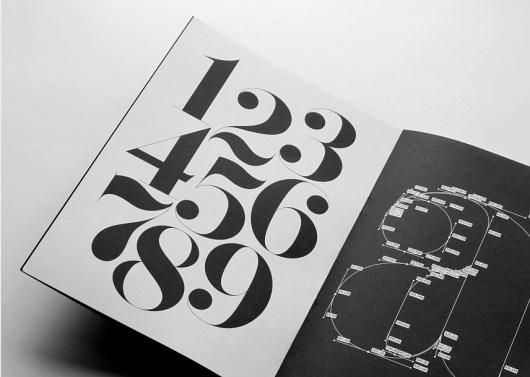 F37 Bella specimen | Archive | Face37 #numbers #specimen #typography