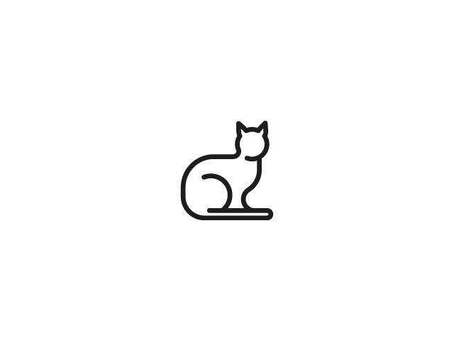 micio - Cat Food Identity Design. #cat #food #logo #type #mark #icon #symbol #animal #pet #graphic #design #web #pictogram #monogram #illust