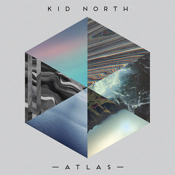 "Kid North ""ATLAS"" LP #north #grand #kid #shapes #artwork #atlas #studio #music #national #hexagon"