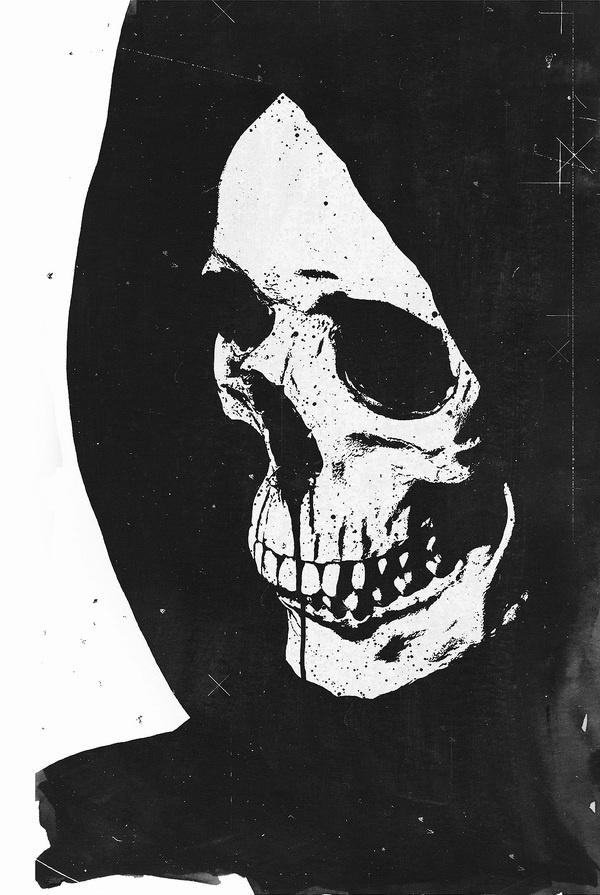 Poltergeist #skull #hooded