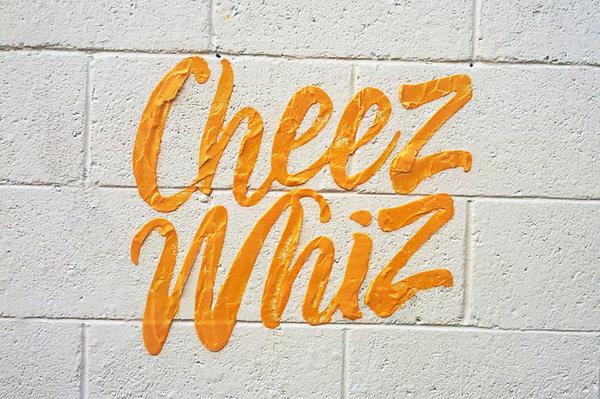 Household Brands Become Tasty Street Art #logo #street #art #typography