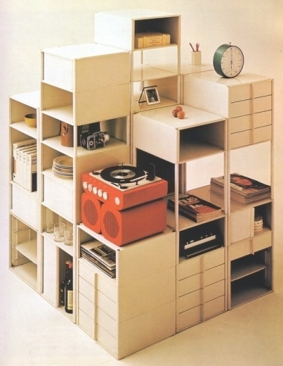 WANKEN - The Blog of Shelby White » The Interiors of Mid-Century Modern #interior #shelving #modern #design #vintage #midcentury