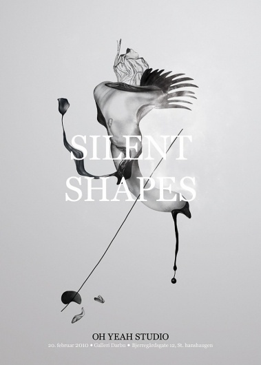 Silent Shapes - Oh Yeah Studio #print #illustration