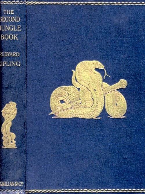 File:SecondJungleBookCover1895.jpg #cover #emboss #book