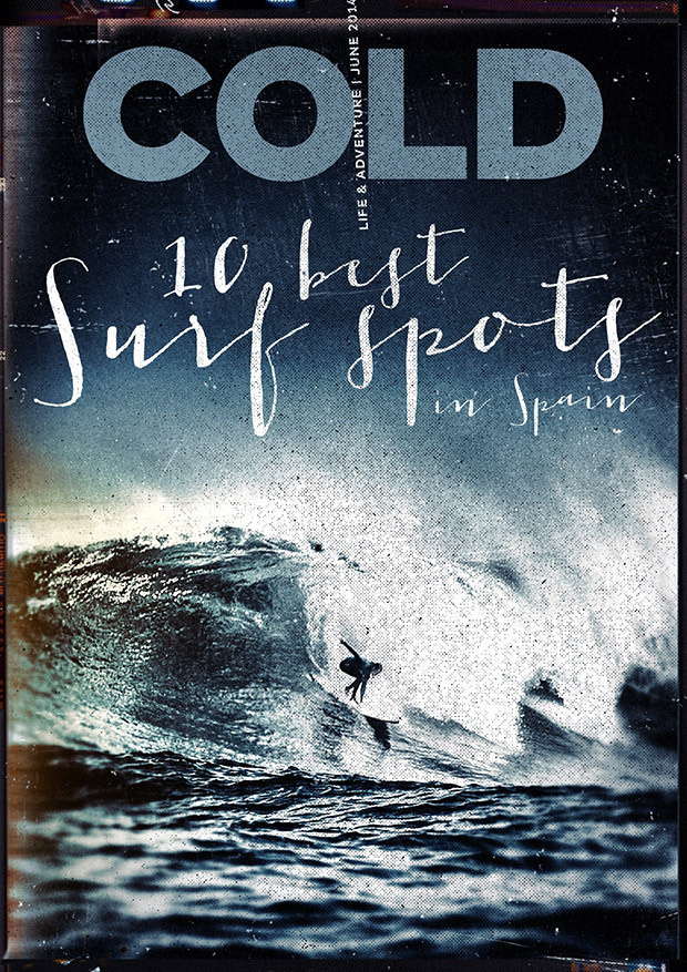 COLD. Life & Adventure Magazine. 2014 June #magazine #cover #print #surf