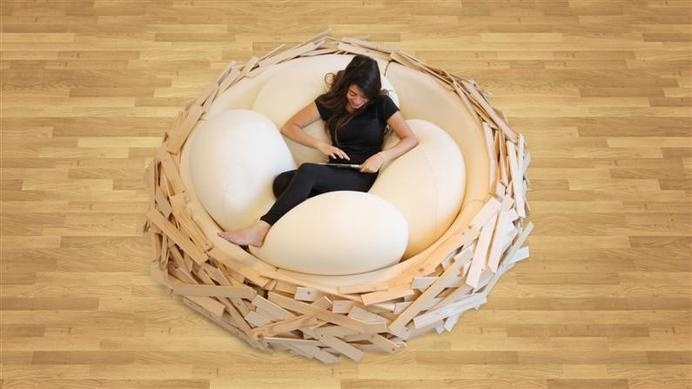 Giant Birdsnest for Creating new ideas OGE Creative Group - www.homeworlddesign.com (2) #ideas #creativity #design #home