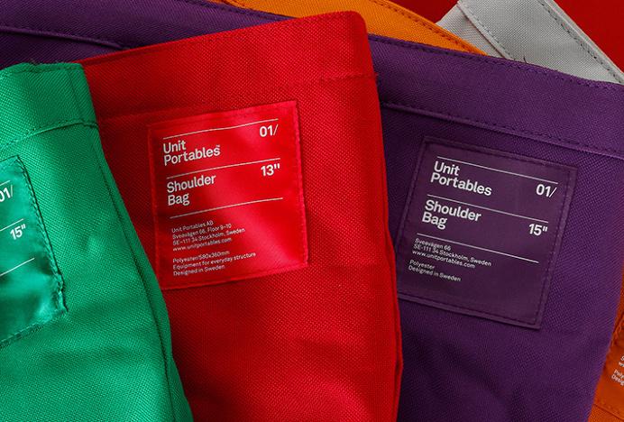 Unit Portables by Kurppa Hosk #branding #label