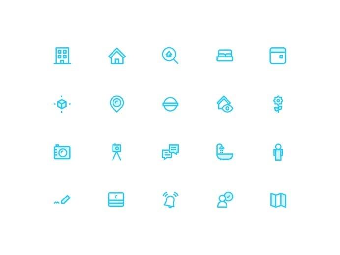Dmitri Litvinov - Moving Icons #pictogram #icon #sign #picto #symbol