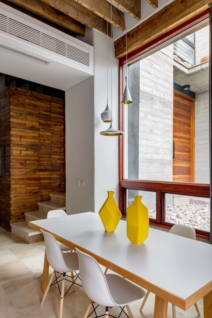 Old Building Converted Into A Family Home In Interior Design