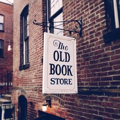Tumblr #store #logo #signboard #book