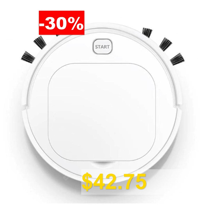 START #3-in-1 #Automatic #Robot #Vacuum #Cleaner #Floor #Cleaning #Cleaner