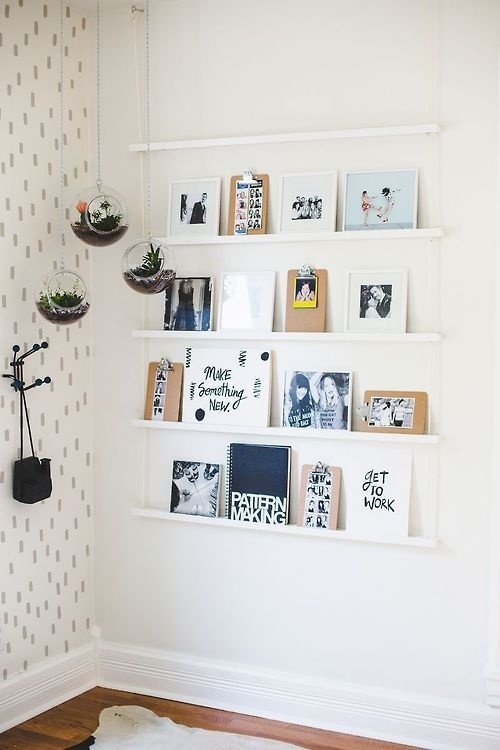 Likes   Tumblr #interior #white #prints #design #illustrations #wall