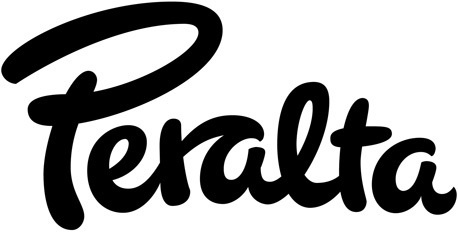 Peralta #type #logo