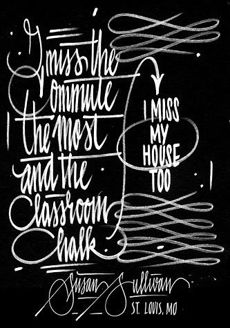 LETMAN #calligraphy #script #typography