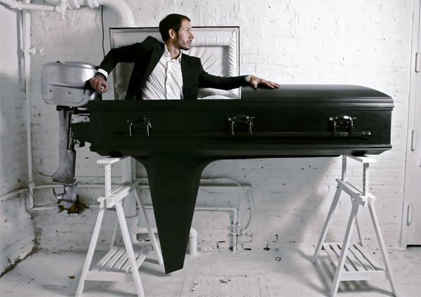 the journey of sebastian errazuriz #coffin