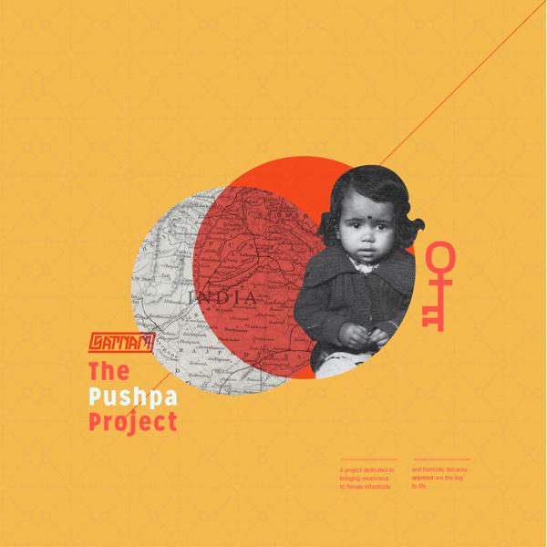 Pushpa Project Album Cover #album cover #key #female #gender #non #profit #non profit #ep #infanticide #femnine