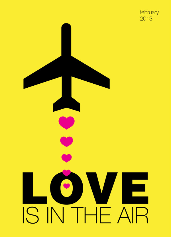 Love Posters. February 2013 #design #february #valentine #poster #day #love